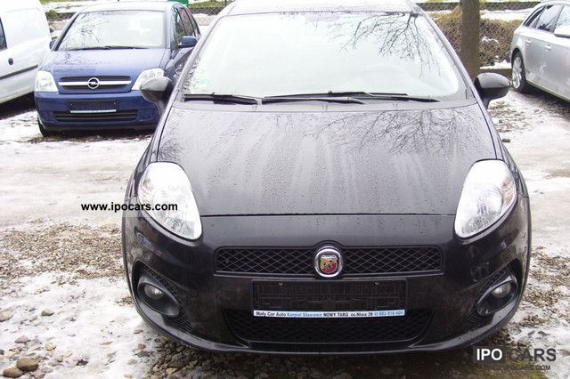 2007 Abarth  Grande Punto Abarth Sports car/Coupe Used vehicle photo