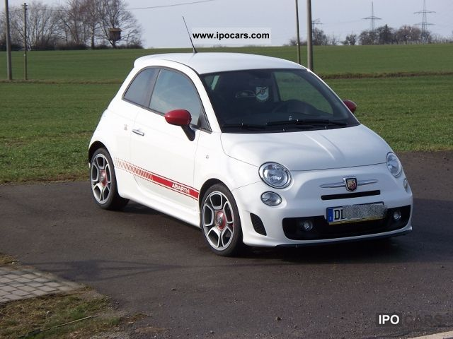 2008 Abarth  500 Small Car Used vehicle photo
