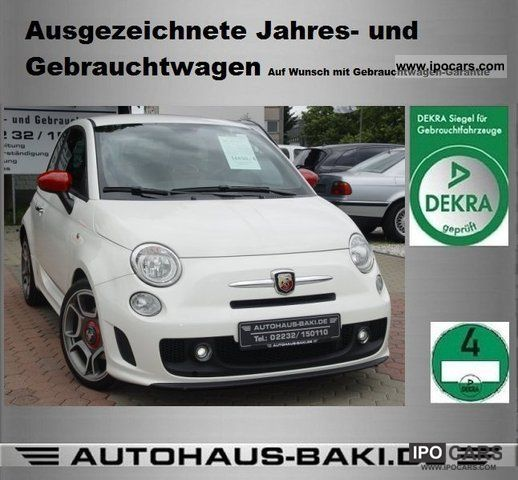 2008 Abarth  500 Air Car 17 \ Sports car/Coupe Used vehicle photo