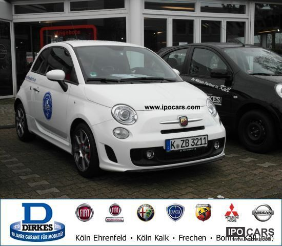 2011 Abarth  500 1.4 Turbo T-Jet 16V XENON Limousine Used vehicle photo