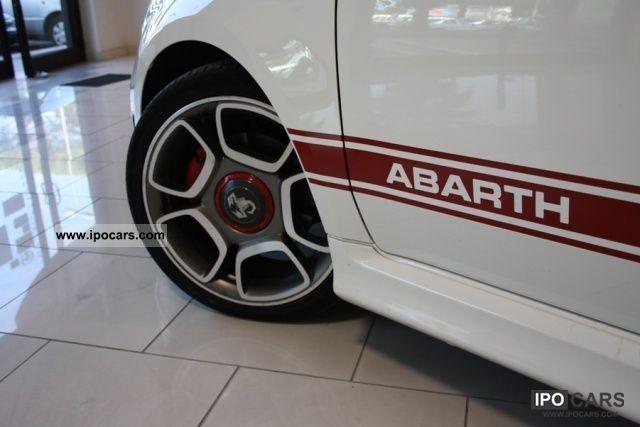 2010 Abarth  500 1.4 Turbo T-Jet PELLE / CERCHI 17 \ Limousine Used vehicle photo