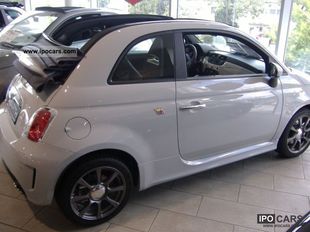 2011 Abarth  Abarth500 Convertible BiXenon No EU-day registration Cabrio / roadster New vehicle photo