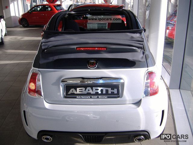 2011 Abarth  40 x immediately convertible - No, no EU import TZ Cabrio / roadster New vehicle photo
