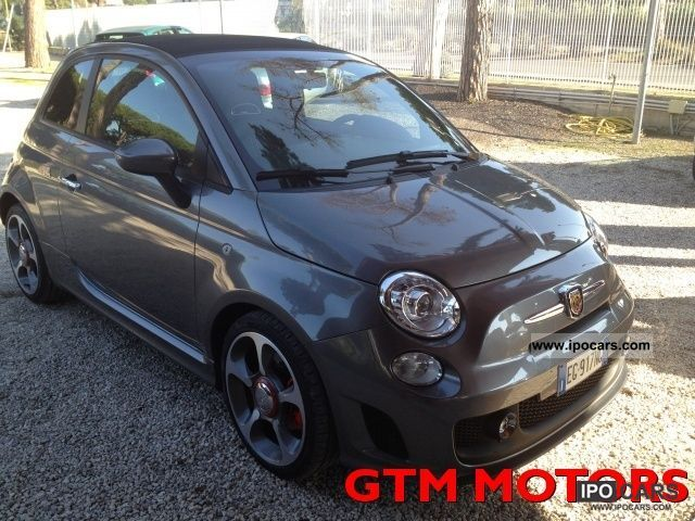 2011 Abarth  500 Fiat 500Cab SOLO 10 000 KM FU Limousine Used vehicle photo