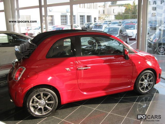 2011 Abarth  500C OF YOUR PARTNER ON MIDDLE RHINE Abarth! Cabrio / roadster Pre-Registration photo