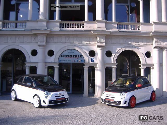 2011 Abarth  Abarth500 v. Convertible LARGEST ABARTH retailers for in FRG Cabrio / roadster New vehicle photo