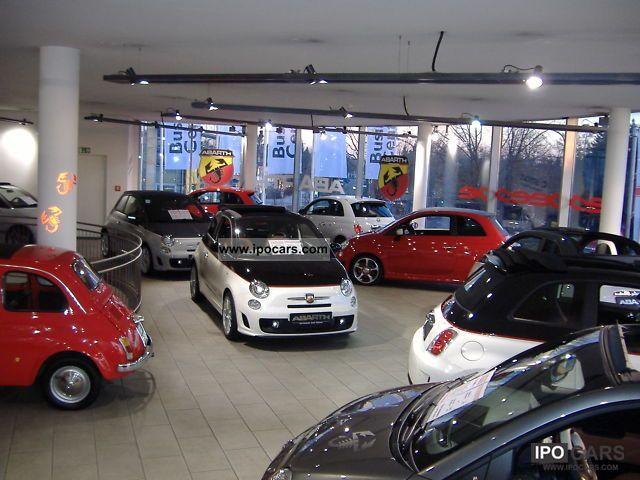 2011 Abarth  500 convertible Bi-Xenon - No EU import - no TZ Cabrio / roadster New vehicle photo