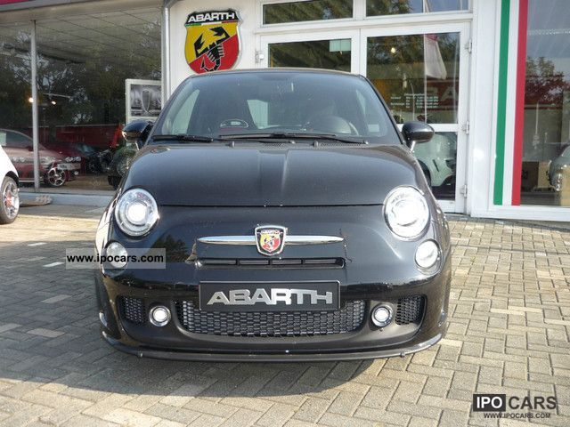 2011 Abarth  500! You'll never live slow! Limousine New vehicle photo