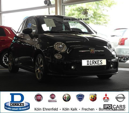 2011 Abarth  500 1.4 T-Jet 16V BI-XENON KLIMAAUTOMATIK Small Car New vehicle photo