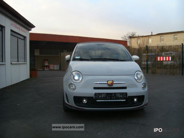 2011 Abarth  * 500C * F1 circuit designer paint (unique) Cabrio / roadster Used vehicle photo