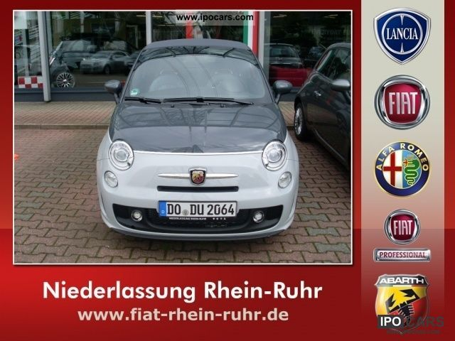 2011 Abarth  500 500C 1.4 T-JET 140 HP Cabrio / roadster Demonstration Vehicle photo