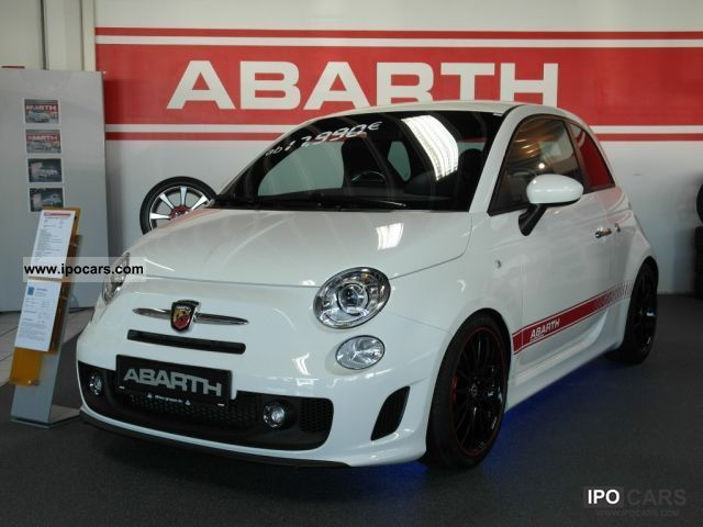2011 Abarth  500 1.4 T-Jet 16V LEATHER BI-XENON Small Car New vehicle photo