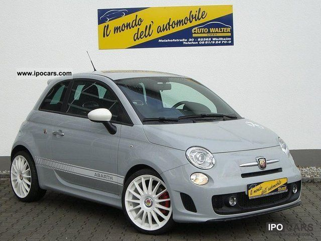 2010 Abarth  500 1.4 T-Jet 170 hp Limousine Used vehicle photo