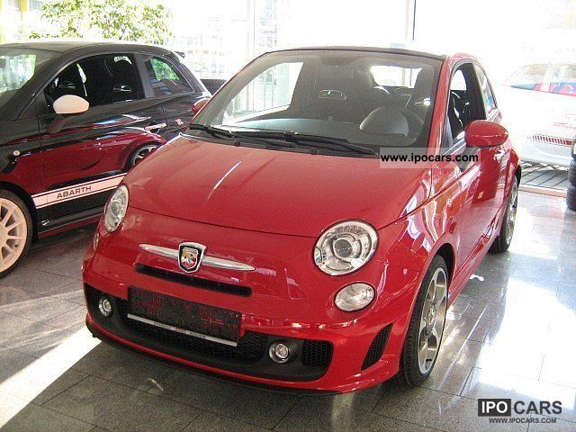 2011 Abarth  500 C / manual switch Cabrio / roadster New vehicle photo
