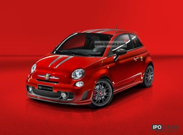 2011 Abarth Tributo Ferrari Rosso Corsa 695 215hp Car