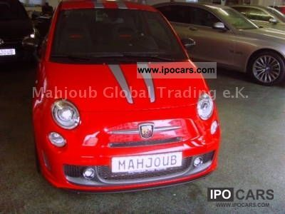 2011 Abarth  Abarth500 Tributo Ferrari 695 immediately Sports car/Coupe Used vehicle photo