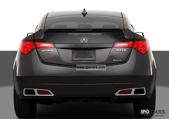 2011 Acura  ZDX = 2012 = Sports car/Coupe New vehicle (business photo