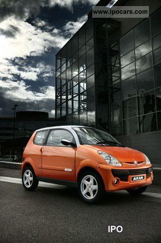 2009 Aixam  Road Line SL (Orange Metallic) Small Car Used vehicle photo