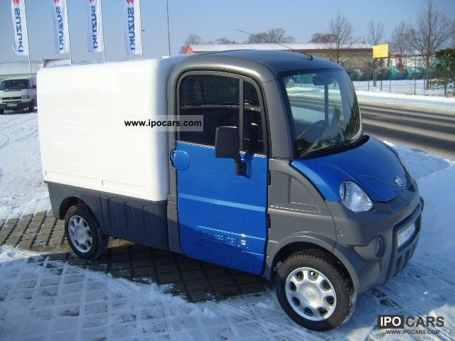 2011 Aixam  Mega Multi Truck Box with 400 Mopeführerschein Van / Minibus New vehicle photo