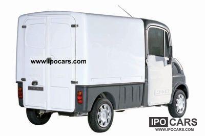 2010 Aixam  Mega Multi Truck Fourgon diesel 400 - sans permis Other Used vehicle photo