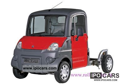 2011 Aixam  e-MEGA Chassis Van / Minibus New vehicle photo