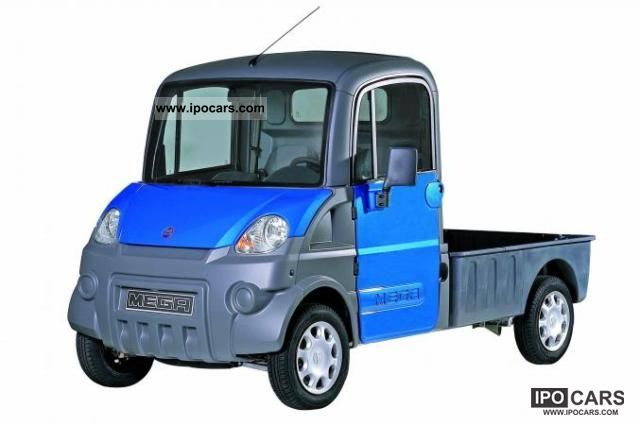 2011 Aixam  e-MEGA Pick Up Van / Minibus New vehicle photo