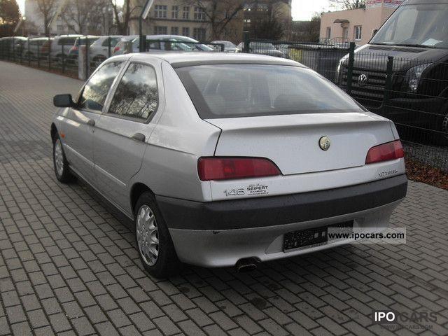 1998 Alfa Romeo Alfa 146 1 6 Junior Car Photo And Specs