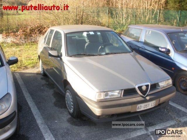 1995 Alfa Romeo  155 9.1 turbo diesel Limousine Used vehicle photo