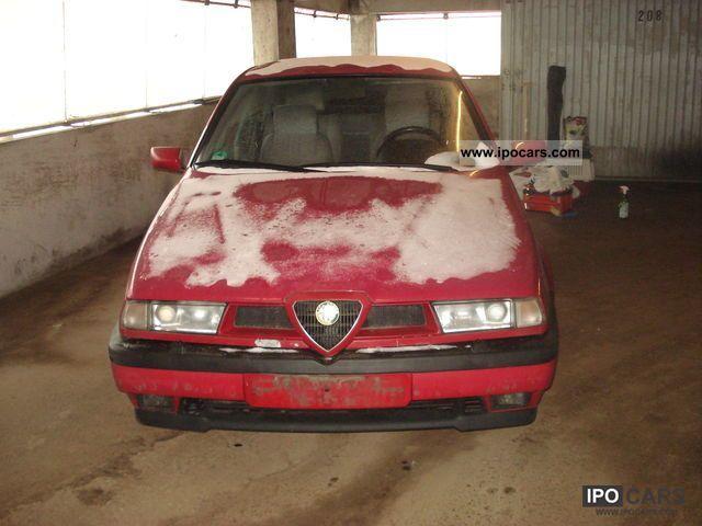 1995 Alfa Romeo  Alfa 155 2.5 V6 Limousine Used vehicle photo