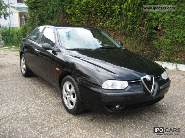 1998 alfa romeo alfa 156 1 6 twin spark 16v air car photo and specs. Black Bedroom Furniture Sets. Home Design Ideas
