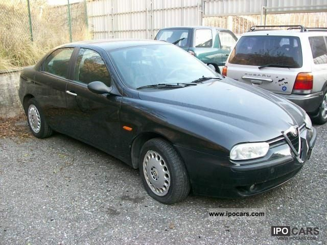 1998 alfa romeo 156 1 8 16v twin spark car photo and specs. Black Bedroom Furniture Sets. Home Design Ideas