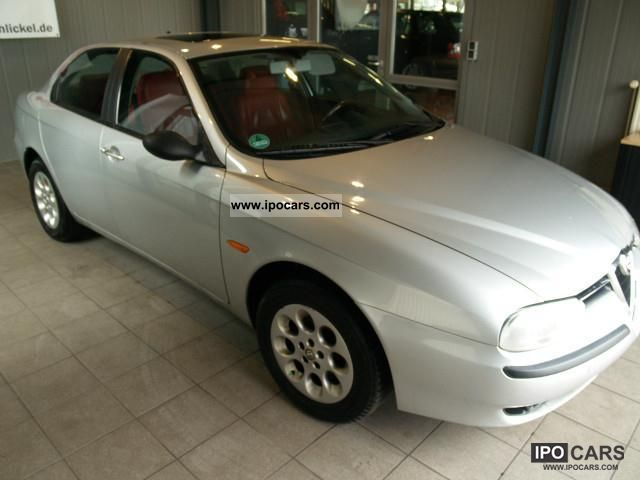 1997 Alfa Romeo  156 2.0 16v Twin Spark with red leather Limousine Used vehicle 			(business photo