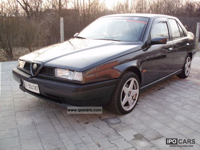 1997 Alfa Romeo  Alfa 155 1.6 Twin Spark 16V / garage Limousine Used vehicle photo