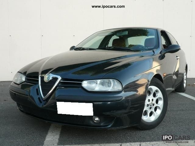 1998 Alfa Romeo  156 1.8i 16v Twin Spark * cat * CLIMA PELLE ROSSA Limousine Used vehicle photo