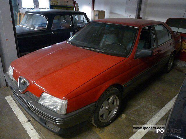 1989 Alfa Romeo  164 3.0 V6 Limousine Used vehicle photo
