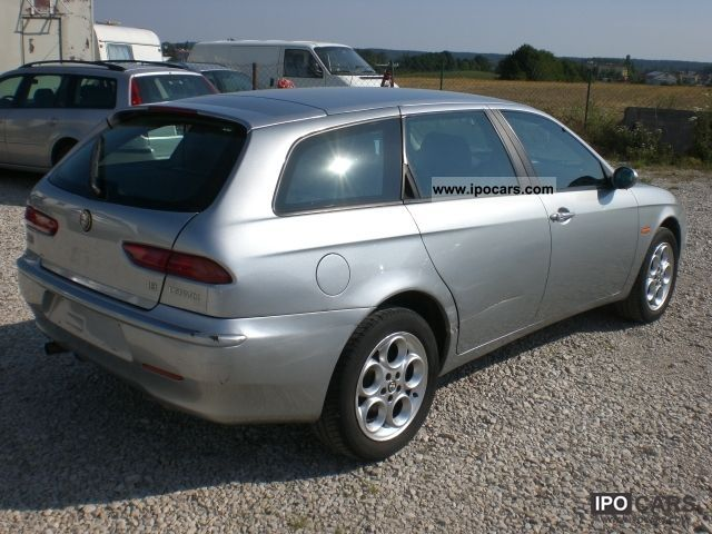 2002 alfa romeo 156 sportwagon 1 8 twin spark related infomation specifications weili. Black Bedroom Furniture Sets. Home Design Ideas