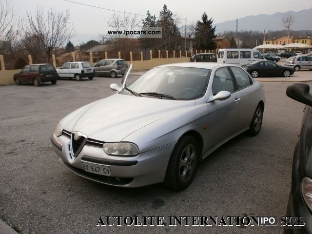 1998 Alfa Romeo  156 1.8i 16v Twin Spark cat Limousine Used vehicle photo