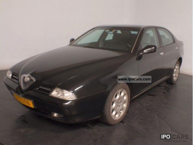 2001 Alfa Romeo  166 2.4 JTD Climate Control LM16 Limousine Used vehicle photo