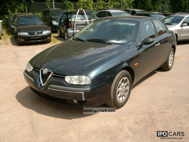 1999 Alfa Romeo  156 2.0 Twin Spark D3 standard automatic climate control Limousine Used vehicle photo