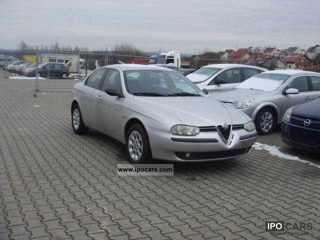 2001 alfa romeo alfa 156 1 6 twin spark 16v air car photo and specs. Black Bedroom Furniture Sets. Home Design Ideas