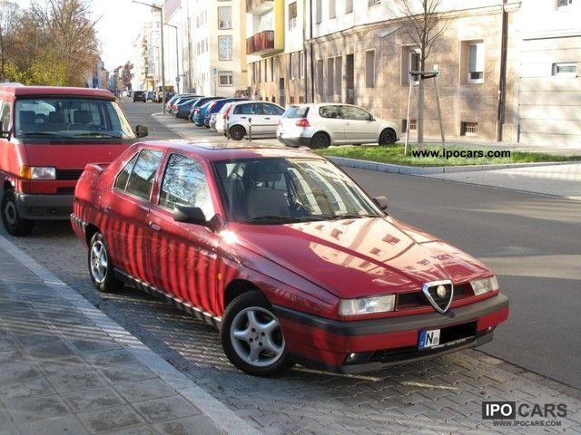 1997 Alfa Romeo  Alfa 155 1.6 Twin Spark 16V scheckheft, TÜV again Limousine Used vehicle photo