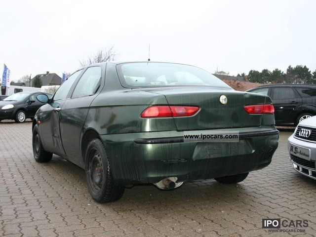 1999 alfa romeo 156 1 9 jtd progression car photo and specs. Black Bedroom Furniture Sets. Home Design Ideas