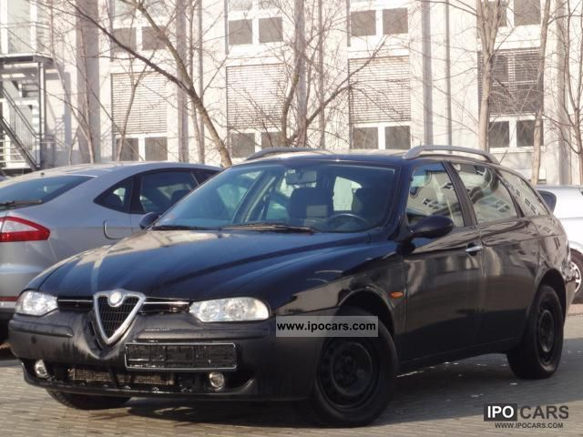 2002 alfa romeo 156 1 9 jtd sportwagon klimaaut car photo and specs. Black Bedroom Furniture Sets. Home Design Ideas