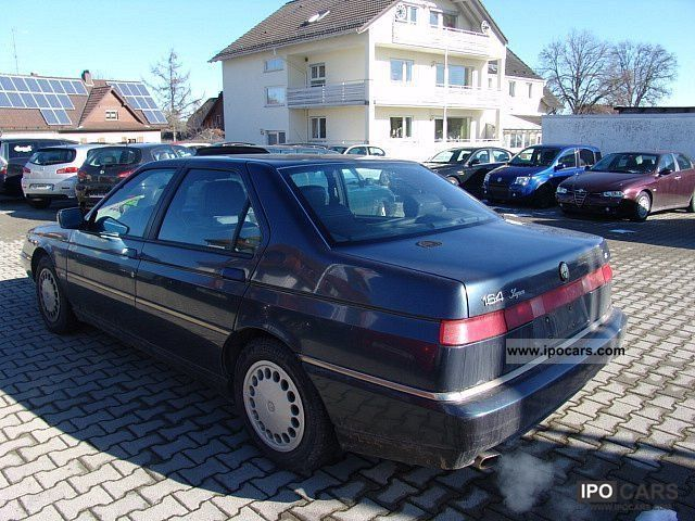 1997 Alfa Romeo  164 3.0 V6 Super from one hand Limousine Used vehicle photo