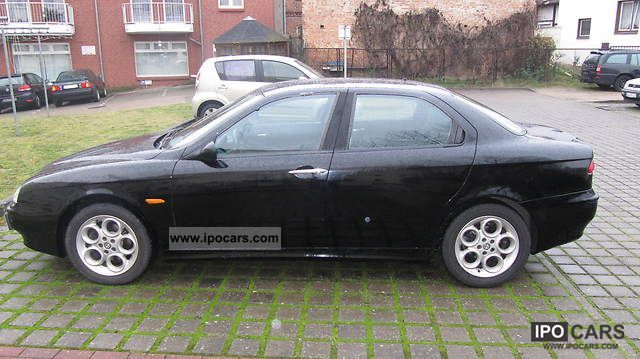 2001 alfa romeo alfa 156 1 6 16v twin spark car photo and specs. Black Bedroom Furniture Sets. Home Design Ideas