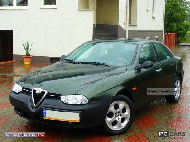 2000 Alfa Romeo  156 * TS, climatron, ALUFEL, ZAREJESTR Limousine Used vehicle photo
