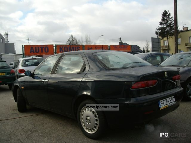 2000 alfa romeo alfa 156 1 8 b car photo and specs. Black Bedroom Furniture Sets. Home Design Ideas