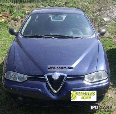 2001 Alfa Romeo  156 1.9 JTD Distinctive cat Limousine Used vehicle photo