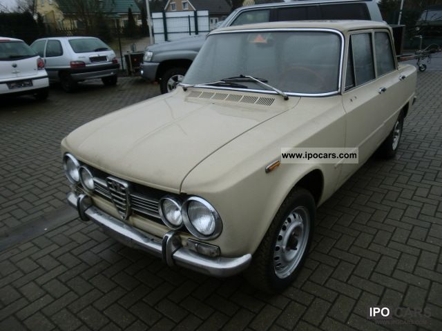 Alfa Romeo  Giulia 1300 TI 1972 Vintage, Classic and Old Cars photo
