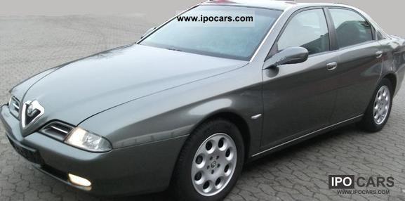 2000 Alfa Romeo  Alfa 166 2.5 V6 24V Distinctive Limousine Used vehicle photo